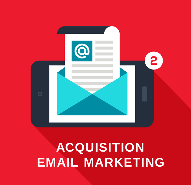 Acquisition email marketing